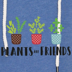 PLANTS in colour - Leichtes Kapuzensweatshirt Unisex