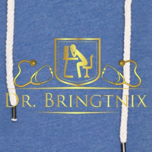 Dr.Bringtnix luxury stethoscope - Light Unisex Sweatshirt Hoodie