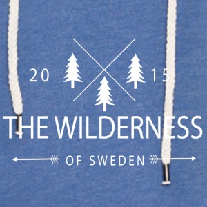 The Wilderness Of Sweden - Sweat-shirt à capuche léger unisexe