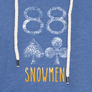 Poker Snowmen - Light Unisex Sweatshirt Hoodie