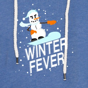 Winter Fever - Lett unisex hette-sweatshirt