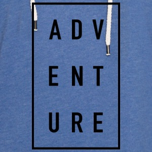 ADVENTURE - Sweat-shirt à capuche léger unisexe
