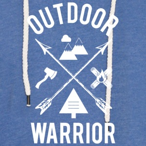 Outdoor Warrior - Leichtes Kapuzensweatshirt Unisex
