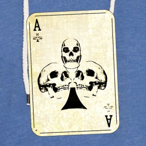 Ace of skulls - Light Unisex Sweatshirt Hoodie