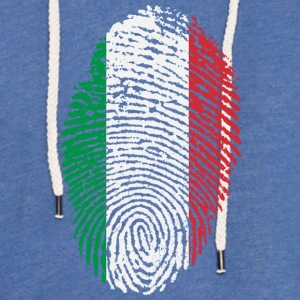 Imprint Italy / footprint Italian Flag - Light Unisex Sweatshirt Hoodie