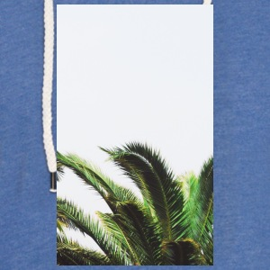 palm trees - Light Unisex Sweatshirt Hoodie