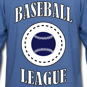 Baseball League - Let sweatshirt med hætte, unisex