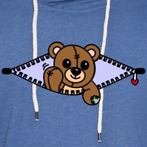 Bärchen - Leichtes Kapuzensweatshirt Unisex