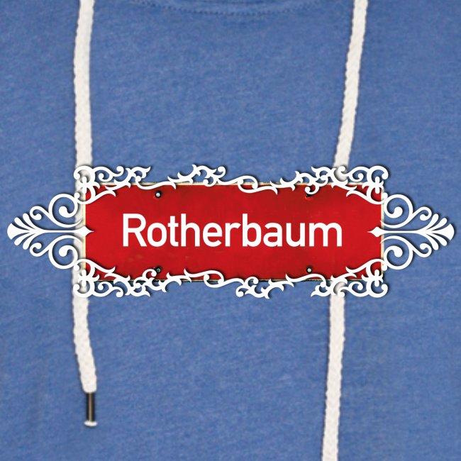 HAMBURG Rotherbaum Ortschild mit Ornament