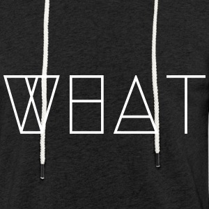WHAT - Light Unisex Sweatshirt Hoodie