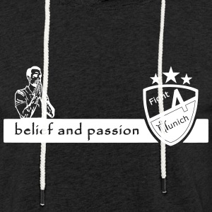 Fight 4 Munich - totalisés et passion - Sweat-shirt à capuche léger unisexe