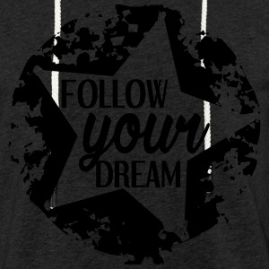 FOLLOW_YOUR_DREAM - Sweat-shirt à capuche léger unisexe