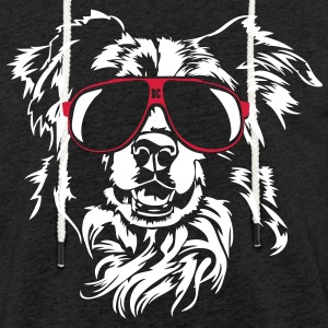 Border Collie kult - Lett unisex hette-sweatshirt