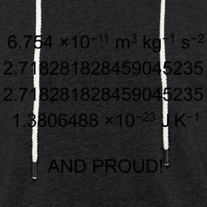 Geek and Proud - Sweat-shirt à capuche léger unisexe