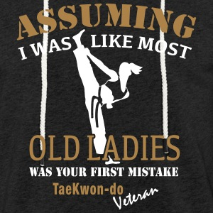 Tae Kwon Do Ladies Veteran - Light Unisex Sweatshirt Hoodie