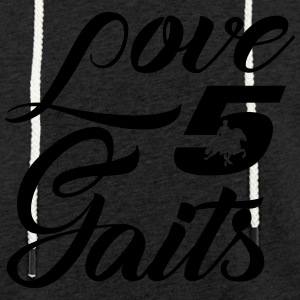 Love 5Gaits - Light Unisex Sweatshirt Hoodie