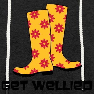 Get Wellied - Light Unisex Sweatshirt Hoodie
