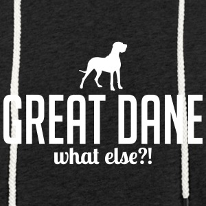 GREAT DANE whatelse - Lätt luvtröja unisex