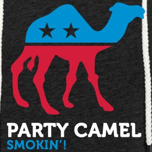Political Party Animals: Camel - Light Unisex Sweatshirt Hoodie