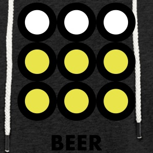 Beer. See also the Wine version. - Light Unisex Sweatshirt Hoodie