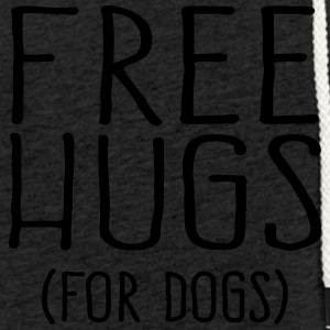 Free Hugs for dogs - Leichtes Kapuzensweatshirt Unisex