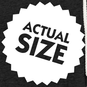 Actual Size! - Light Unisex Sweatshirt Hoodie