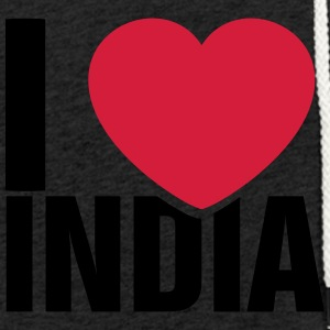 I love India - Light Unisex Sweatshirt Hoodie