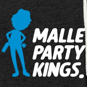 Kings parti Malle - Sweat-shirt à capuche léger unisexe