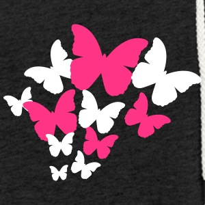 Butterflies Swarm - Light Unisex Sweatshirt Hoodie
