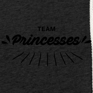 Team princesses - Sweat-shirt à capuche léger unisexe