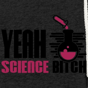 Ja Bitch Science Kemi - Let sweatshirt med hætte, unisex