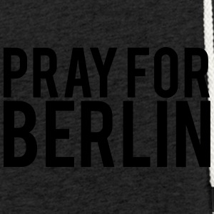 Pray for Berlin. Beds for Berlin - Light Unisex Sweatshirt Hoodie