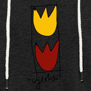 together - Leichtes Kapuzensweatshirt Unisex
