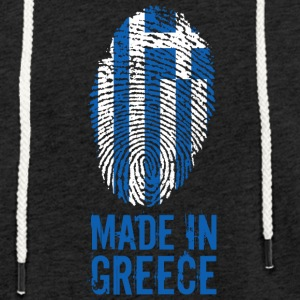 Made in Greece / Made in Hellas - Lett unisex hette-sweatshirt