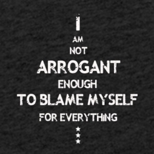 Not Arrogant white - Light Unisex Sweatshirt Hoodie