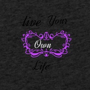 Live your life telfoonhoes - Lichte hoodie unisex