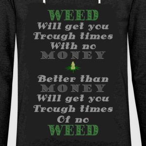 Weed vs Money Pt2 - Light Unisex Sweatshirt Hoodie