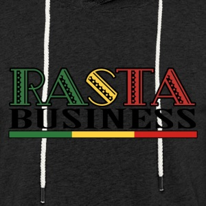 Rasta Business - Sweat-shirt à capuche léger unisexe