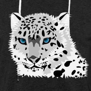 snow leopard - Light Unisex Sweatshirt Hoodie