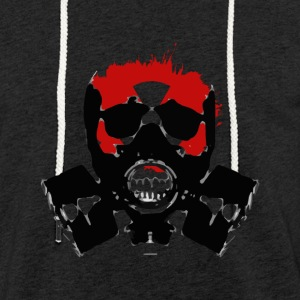 GAS MASK HORROR COLLECTION - Light Unisex Sweatshirt Hoodie