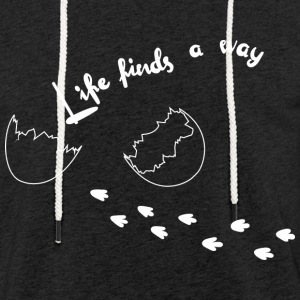 Life Finds A Way - Light Unisex Sweatshirt Hoodie
