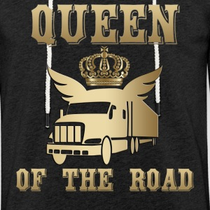 Queen of the Road Queen of the Road! - Lett unisex hette-sweatshirt