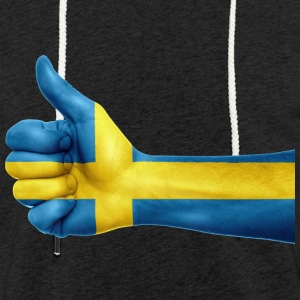 SWEDEN THUMB T-SHIRT - Light Unisex Sweatshirt Hoodie