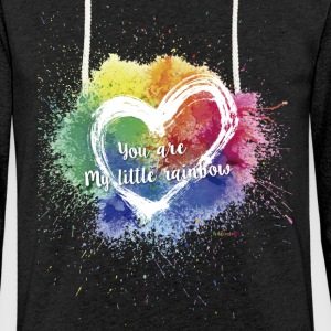 Little Rainbow T-Shirt - Light Unisex Sweatshirt Hoodie