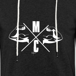 MC Collection - Leichtes Kapuzensweatshirt Unisex
