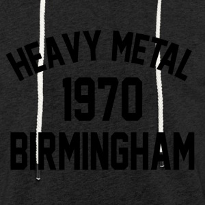 Heavy Metal 1970 Birmingham - Light Unisex Sweatshirt Hoodie
