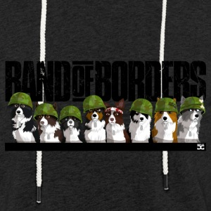 Band Of Borders (Black) - Light Unisex Sweatshirt Hoodie
