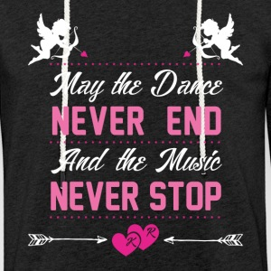 Dance and Music - Light Unisex Sweatshirt Hoodie