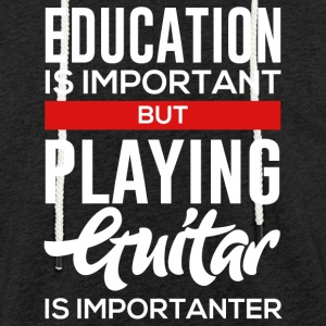 Pour Guitar Player! - Sweat-shirt à capuche léger unisexe