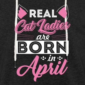 Cat lovers April - Light Unisex Sweatshirt Hoodie